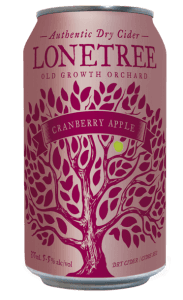 Cranberry Apple Dry Cider can