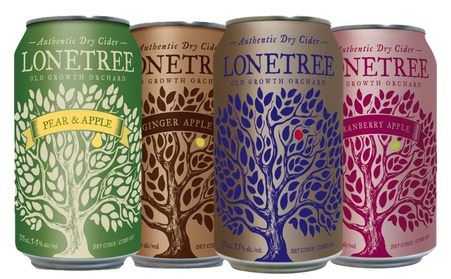 Lonetree Cider cans