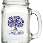 Lonetree mason jar glass