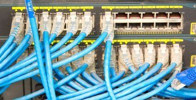 Fibre network setup