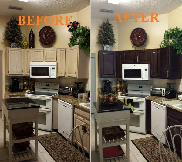 Kitchen Cabinets Jacksonville Fl: Try CORESTAIN Professional Cabinet Refinishing