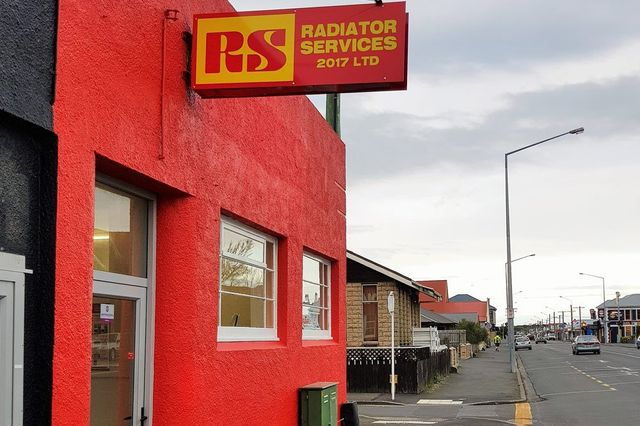 RADIATOR SERVICES Shop front
