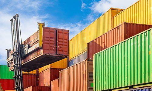 Containers per trasporti via mare