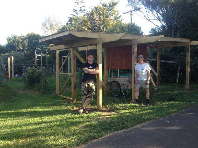 Property maintenance specialist performing electrical work in Waitara