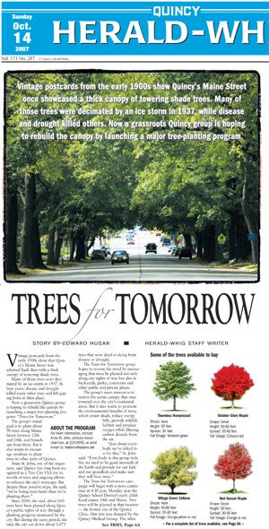 Trees for Tomorrow - Herald Whig