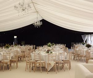 Banquet furniture for weddings