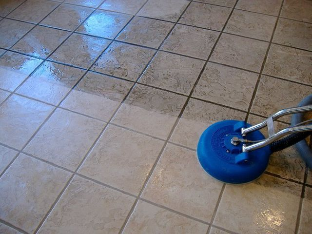 Residential Floor Cleaning Services Crystal Clean - Cleaning solution for ceramic tile floors