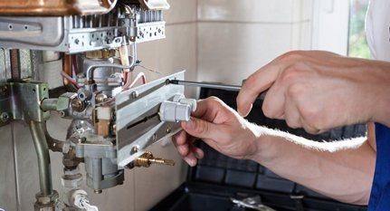 Gas boiler maintenance