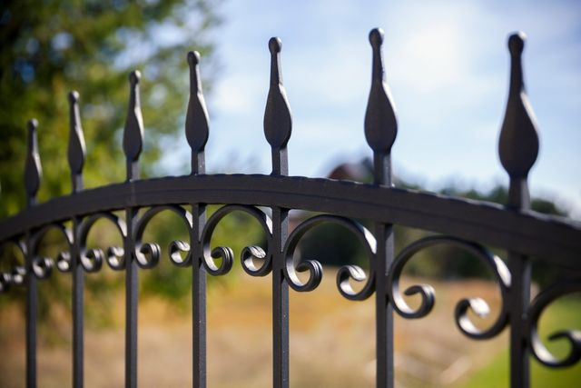3 Maintenance Tips for Your Wrought Iron Fence| Capitol City Iron Works