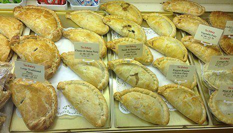 Cornish pastries