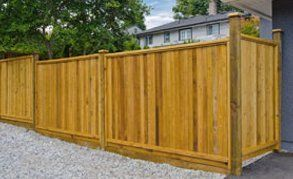 Stylish fence installations