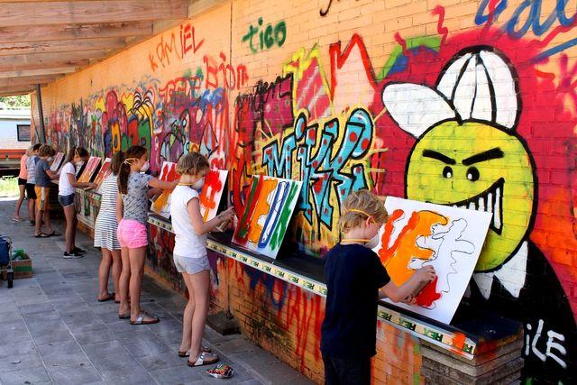 Top Creatieve Workshops bij Kunstkot Groningen Veendam (Graffiti @UI81