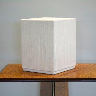 urna cubica bianca