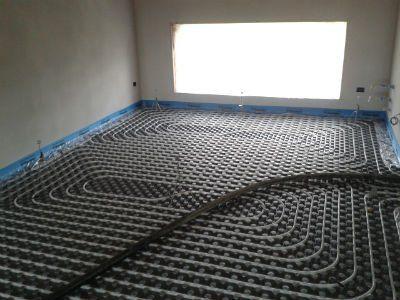 impianto di riscaldamento da pavimento