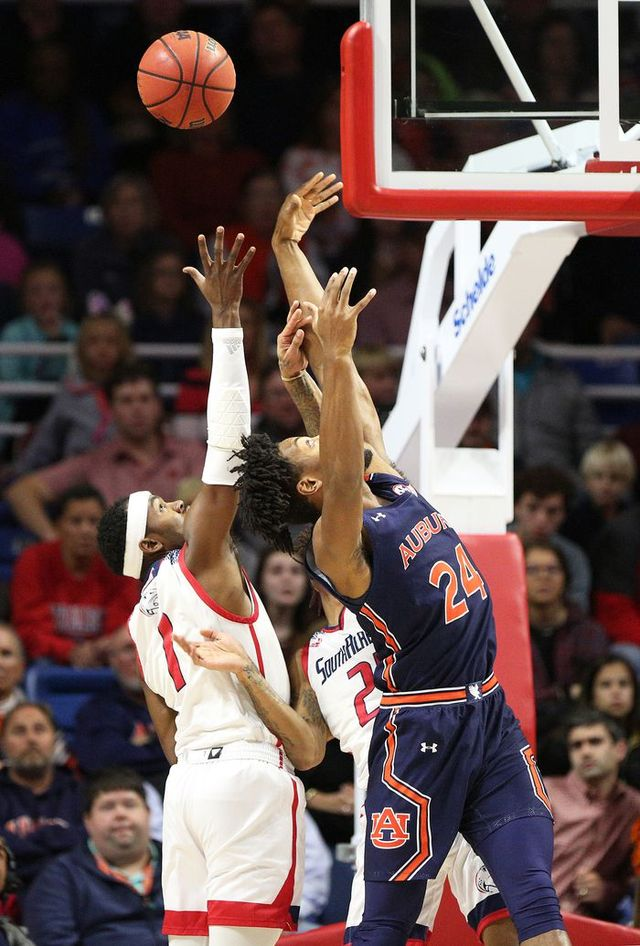 Auburn Basketball Avoids Upset At South Alabama