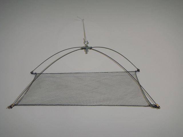 Bacchette in acciaio per reti quadrate
