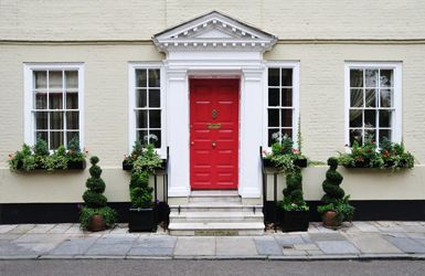 A Brighten the exterior of your home with Sam Brown - Hertfordshire's best female decorator