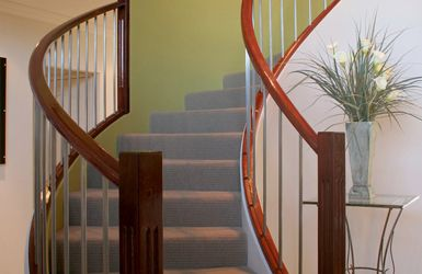 New staircases chosen by Sam Brown - Hertfordshire's best female decorator