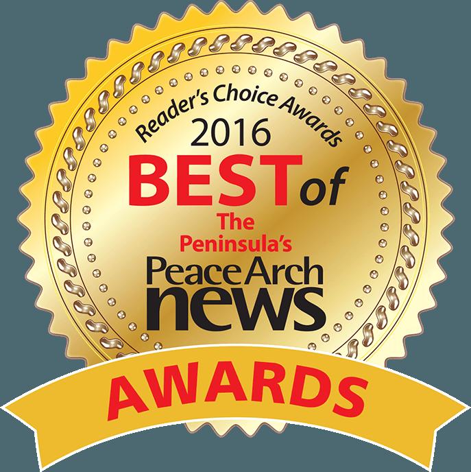 2016 Peace Arch News Reader's Choice Awards logo