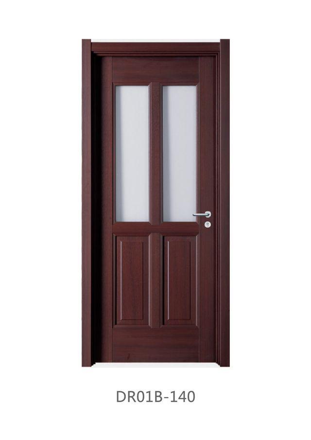 Doors Laminate Wood Glass Hinged Sliding
