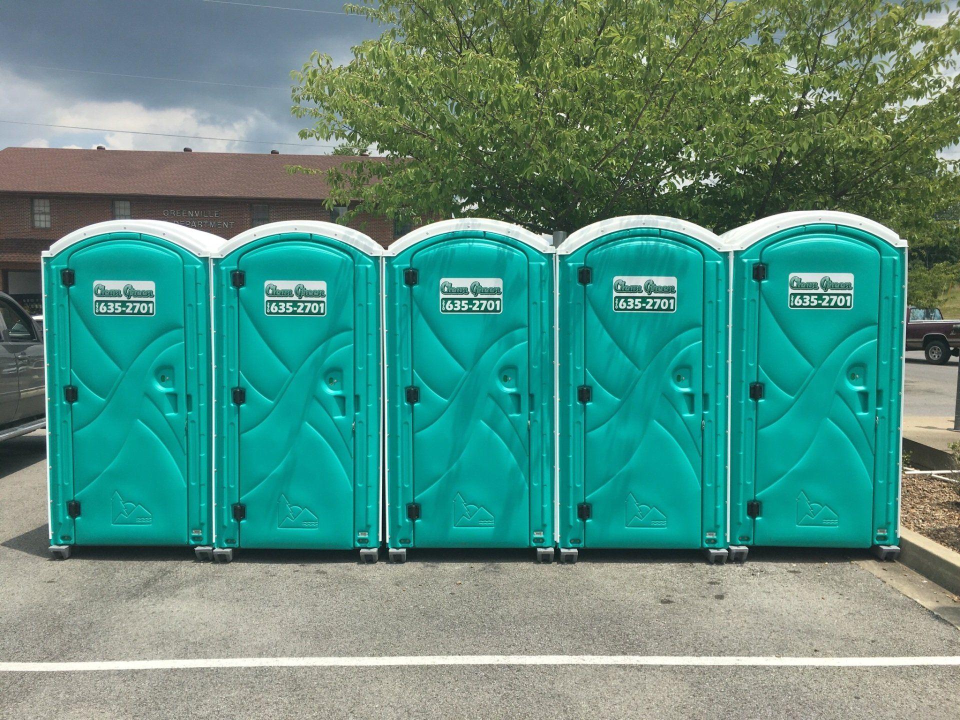 Potties porta Porta Potty