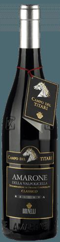 """Amarone classico Valpolicella riserva """"Campo del Tìtari"""" D.O.C.G."""