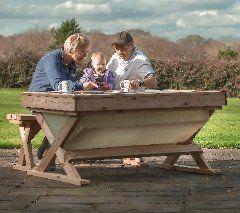 Fishtank Table