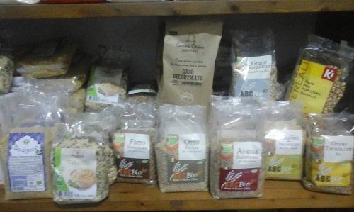 delle confezioni di cereali