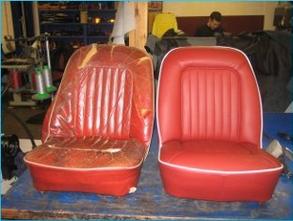 Car upholstery repairs - Autotrim Ltd