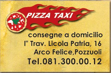 Pizza Taxi Logo