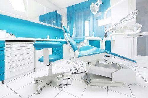Dettaglio d'interni dello studio dentistico