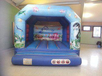 Indoor bouncy castles