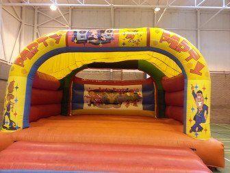 Children's play castle