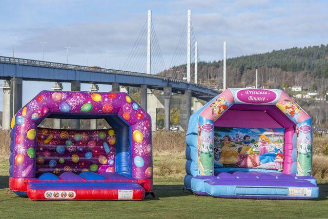 Children's party castle