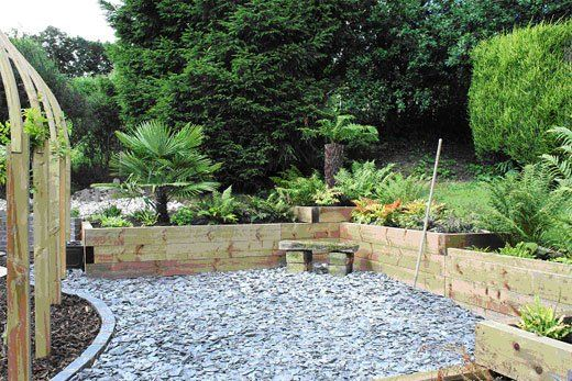 landscaping services - Evesham - Castle Acre - garden