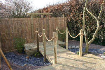 garden maintenance - Evesham - Castle Acre - timber structures