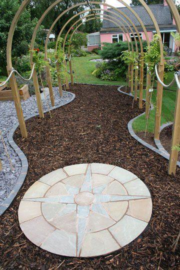 garden landscaping - Evesham - Castle Acre - garden design