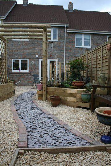 gardening - Evesham - Castle Acre - hard landscaping