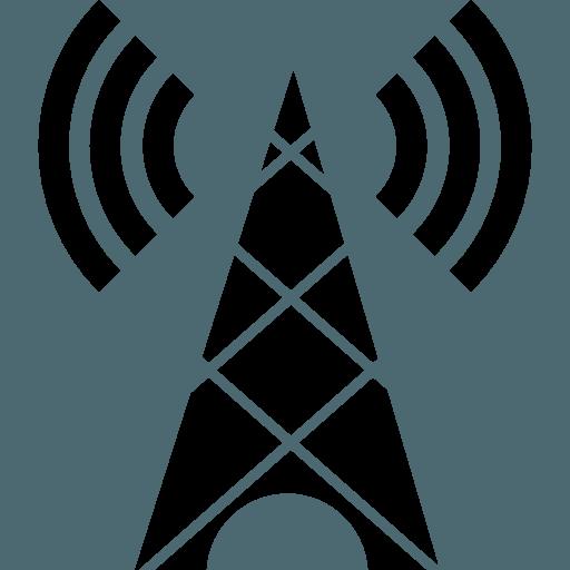 icona di un'antenna