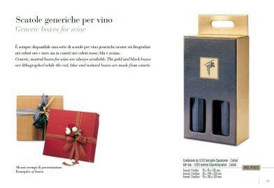 Scatole generiche per vino