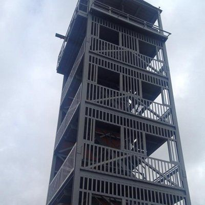 commercial tower construction