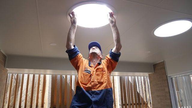 See the Hem Properties Solatube Skylight Installation