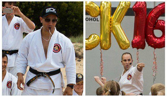 Kancho Robert - black belt instructor