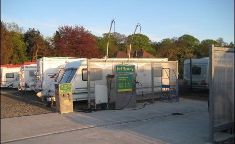 Caravans on our site