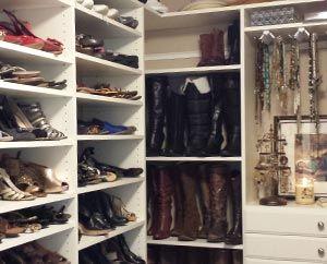 Walk In Custom Closet System