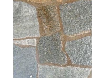 particolare di un pavimento in pietra