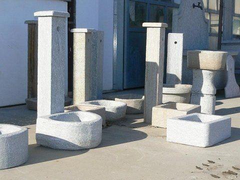 fontane e vasche in pietra