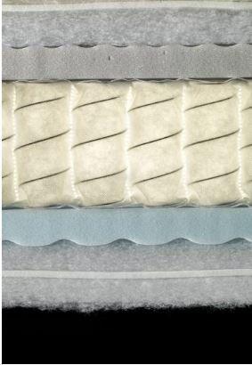 particolare di un materasso 800 molle Biorest Posture