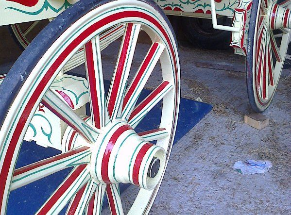 Wheel painting