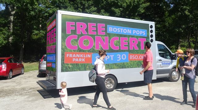 Where To Advertise With A Mobile Billboard Truck